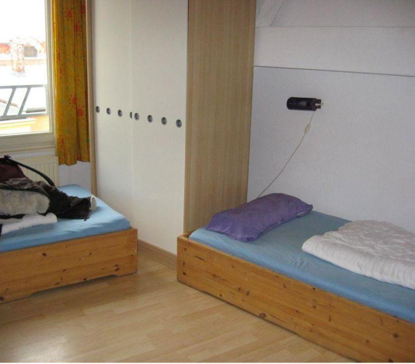 erstes schlafzimmer gste etage