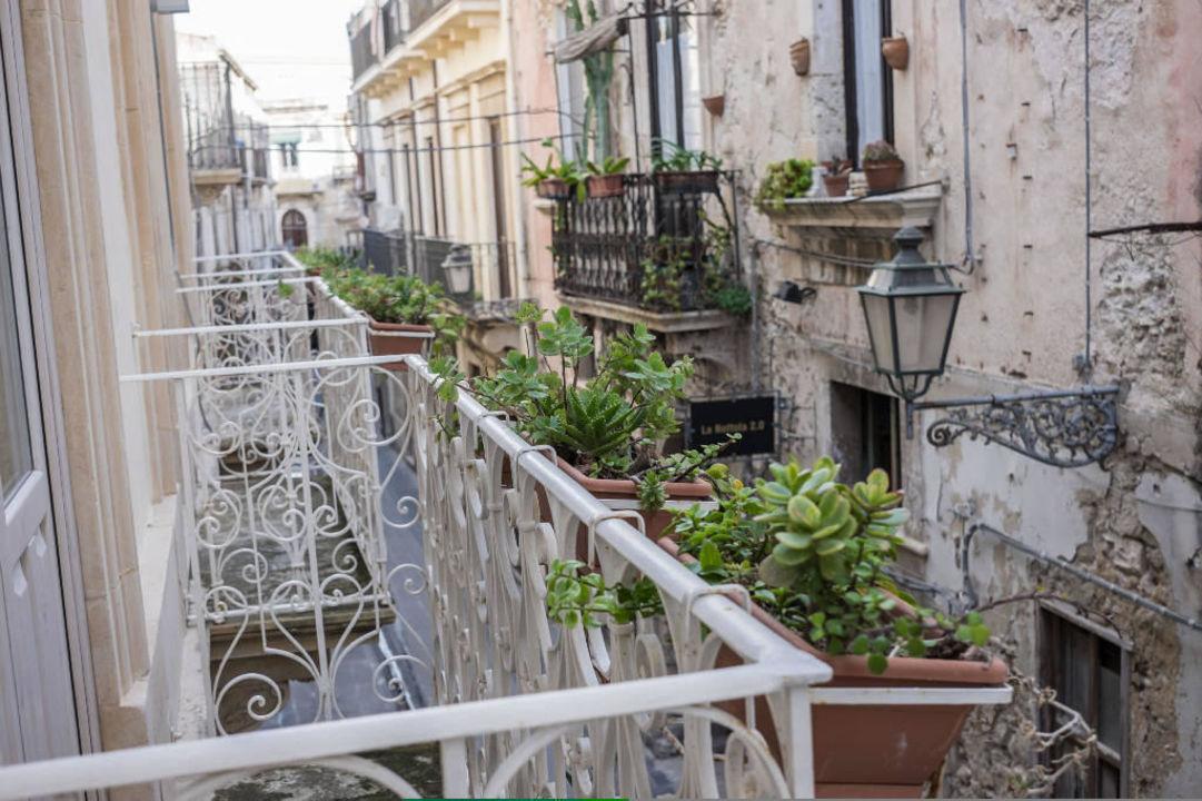 Vista camere Hotel Gargallo