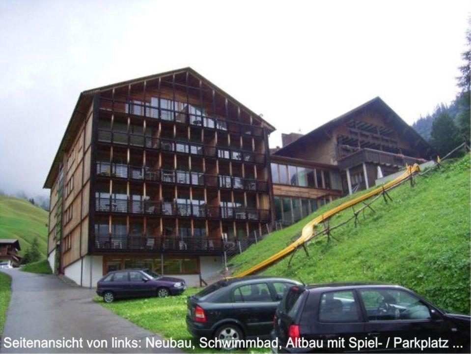 Seitenansicht des Hotels Widderstein Hotel Widderstein
