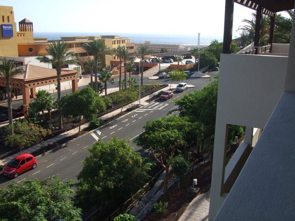 Blick von Zimmer 8210 Occidental Jandía Mar