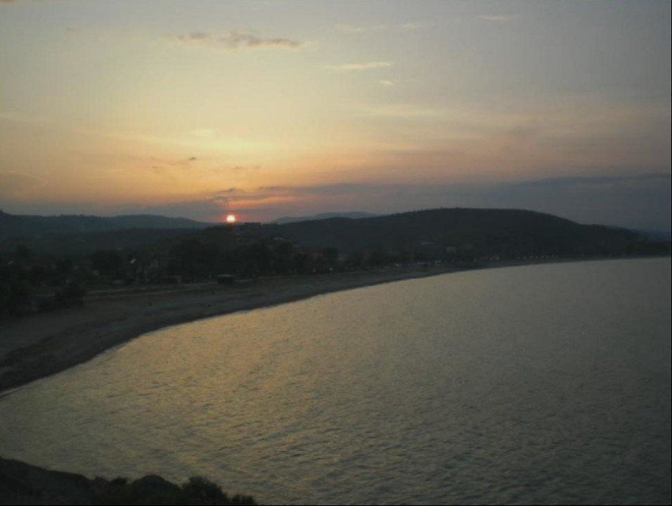 Abendstimmung Antigoni Beach Resort