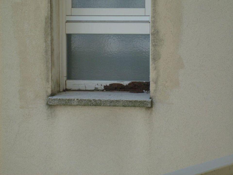 Fauler Fensterrahmen\