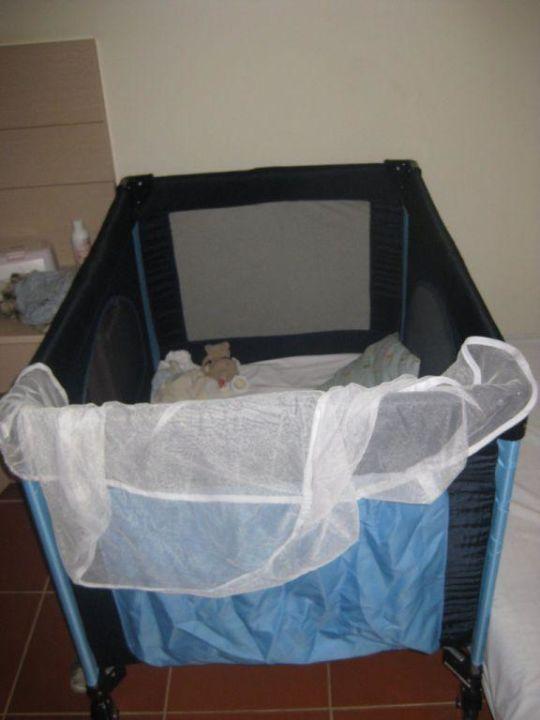 Kinderbett für Babys Hotel Gardenia Beach