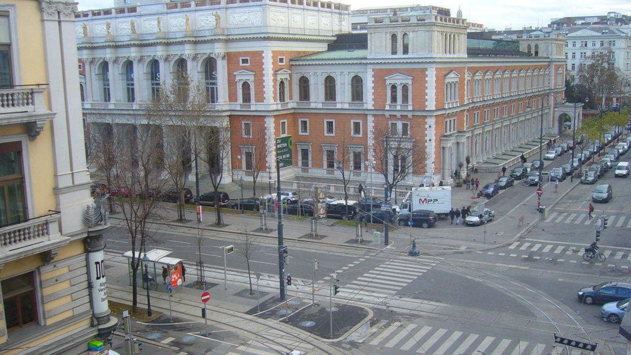 Ausblick Hilton Vienna Plaza Hilton Vienna Plaza