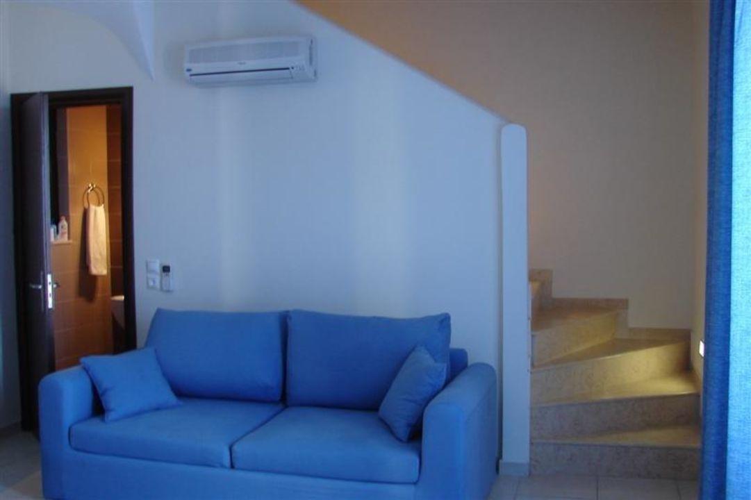 Küche/Wohnzimmer Hotel Al Mare Villas