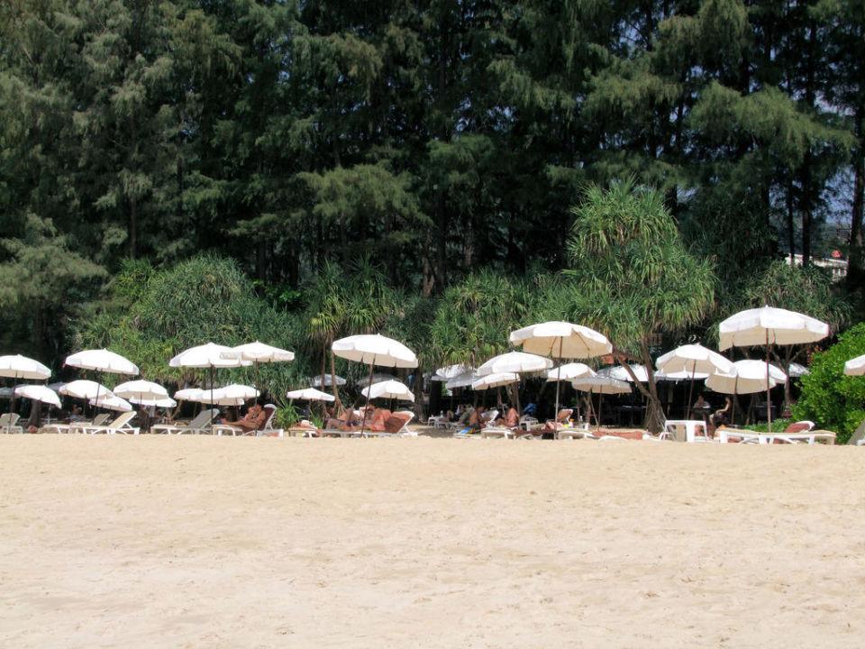 Nai Thon Beach, Strandabschnitt vom Naithonburi Hotel Naithonburi Beach Resort