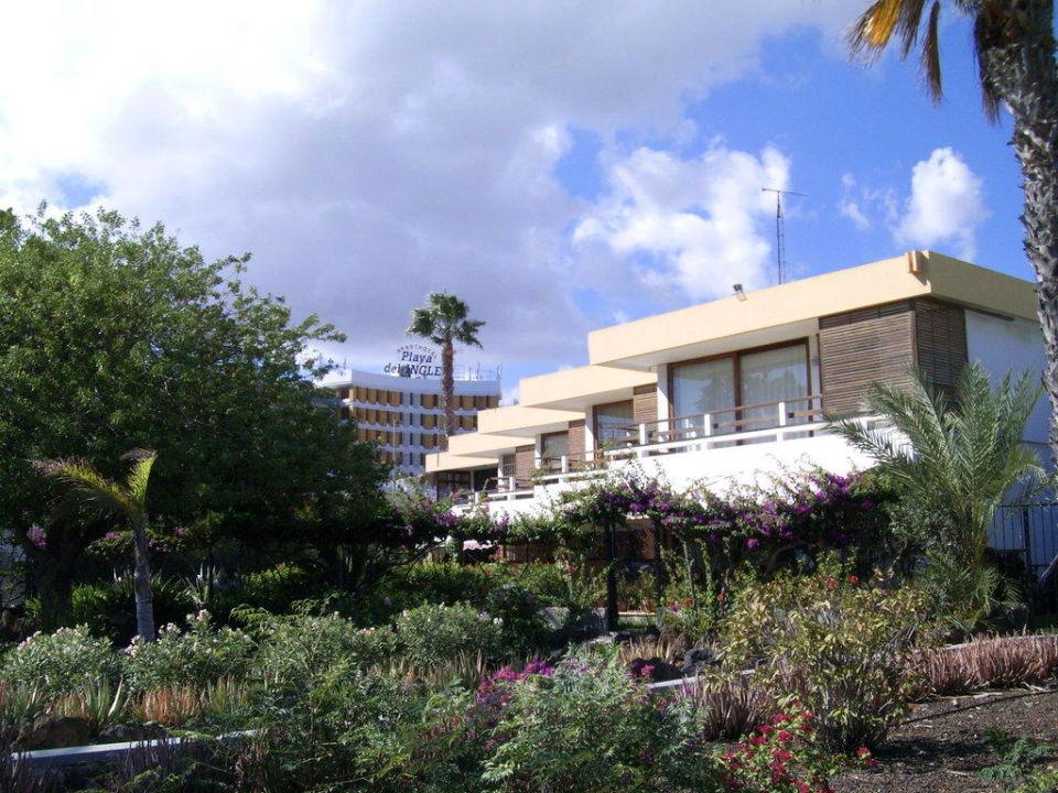 Hotel im Hintergrund Hotel Playa del Ingles  (Vorgänger-Hotel – existiert nicht mehr)