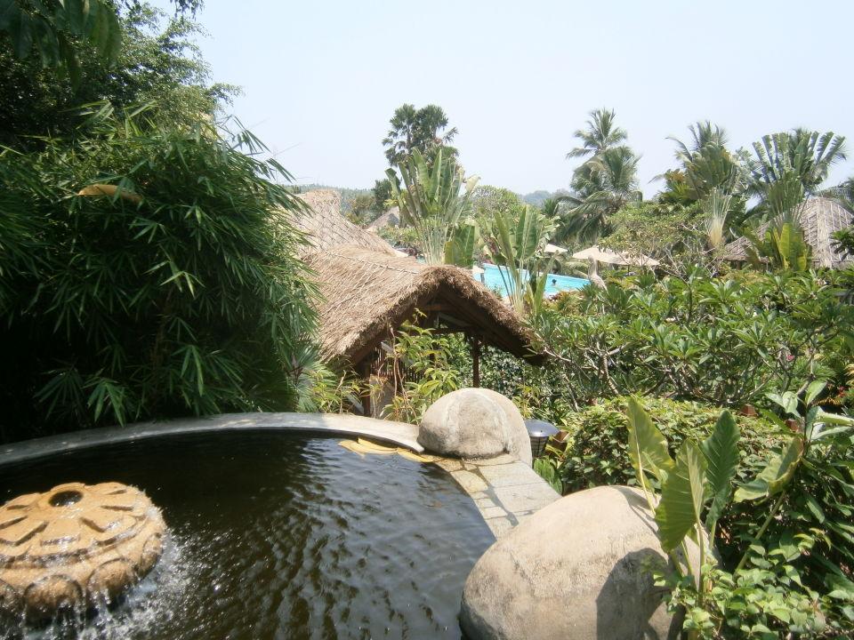 Gartenanlage Hotel Vivanta by Taj Kovalam