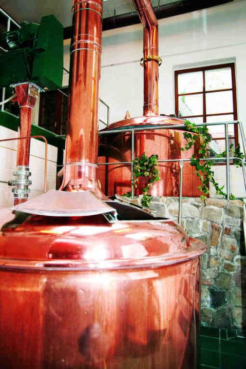 Hauseigene Brauerei Hotel Wasserburg zu Gommern