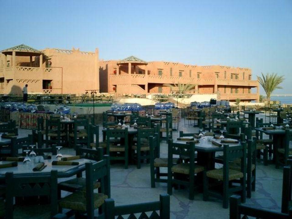 Sinai Hauza Beach, Abendessen draußen Hotel Hauza Beach Resort