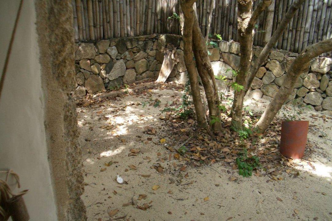 Badezimmer im Freien Hotel Six Senses Ninh Van Bay