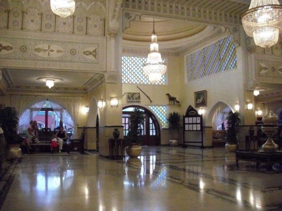 Die Lobby/Rezeption Alf Leila Wa Leila