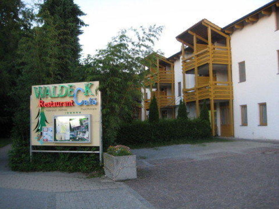 Eingang Restaurant und Hotel Hotel & Appartementhof Waldeck