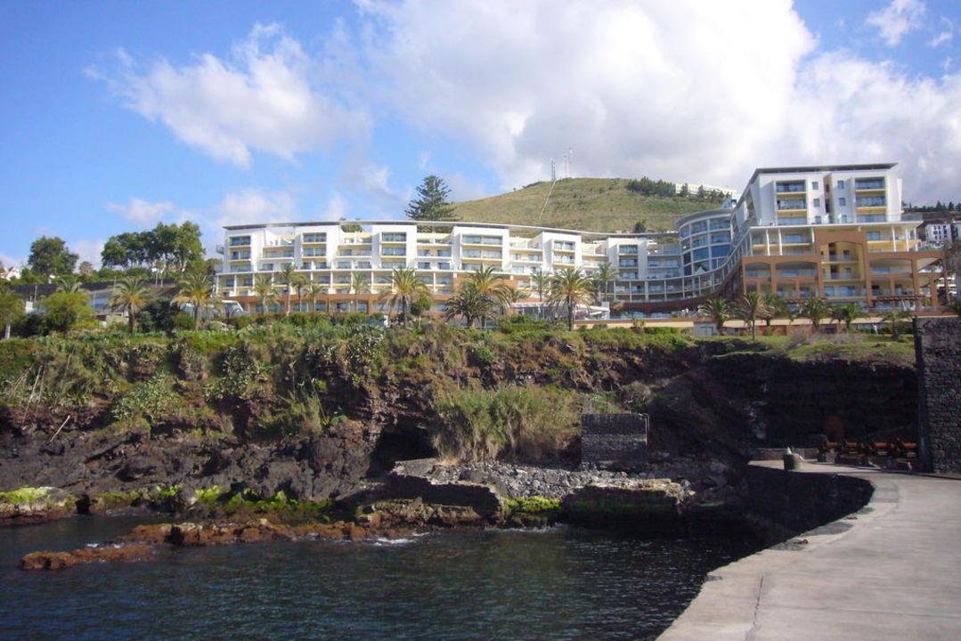 Ansicht des Hotels vom Fischersteg Pestana Promenade