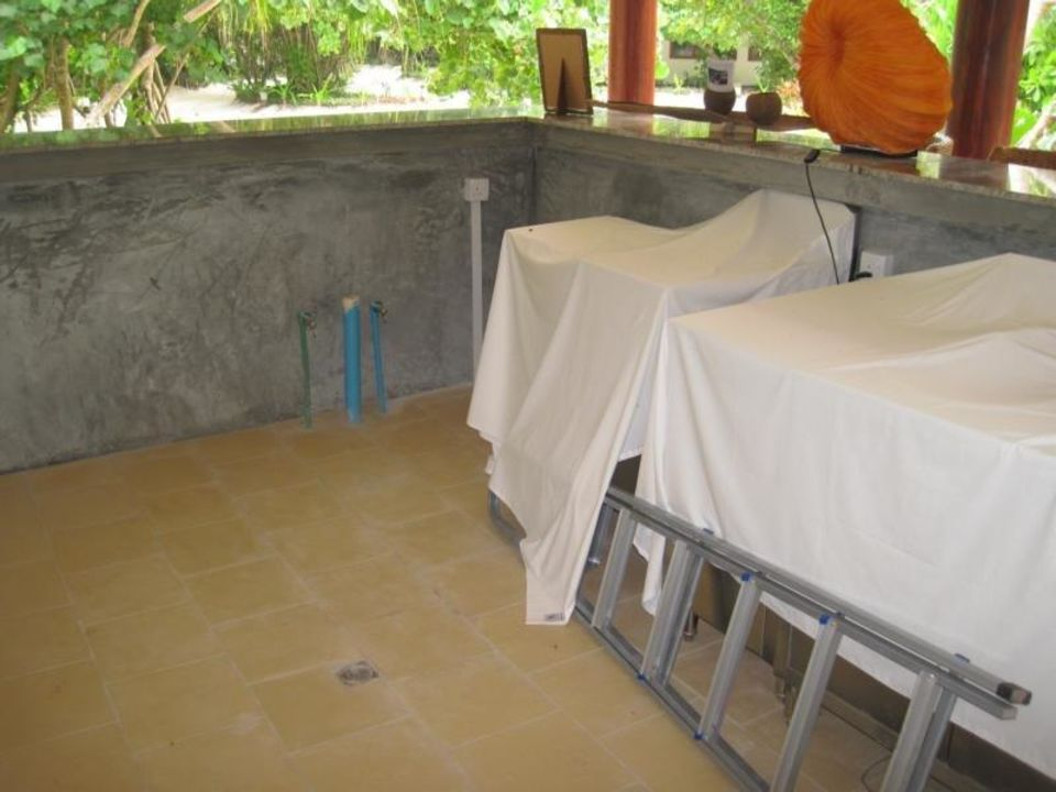 Bar beim Fitness-Center Robinson Club Maldives - Adults Only