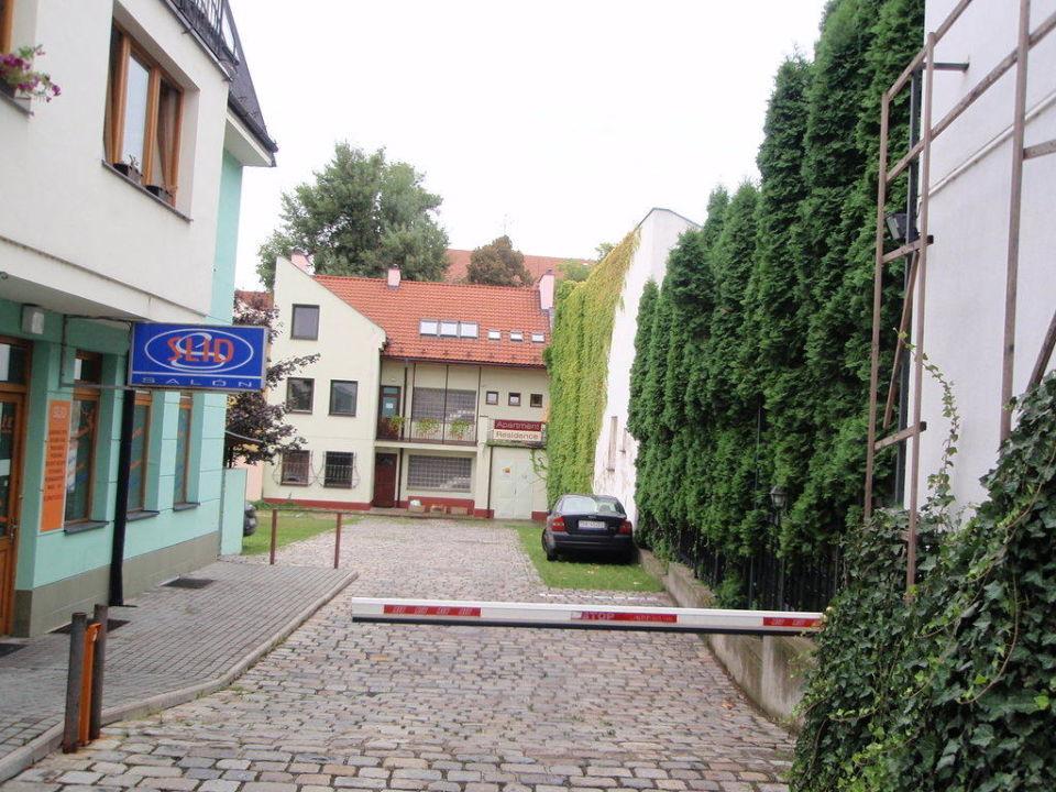 Innenhof Hotel Apartment Residence