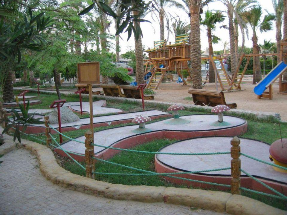 Giftun Hotel Kinderspielplatz Minigolf Giftun Azur Resort