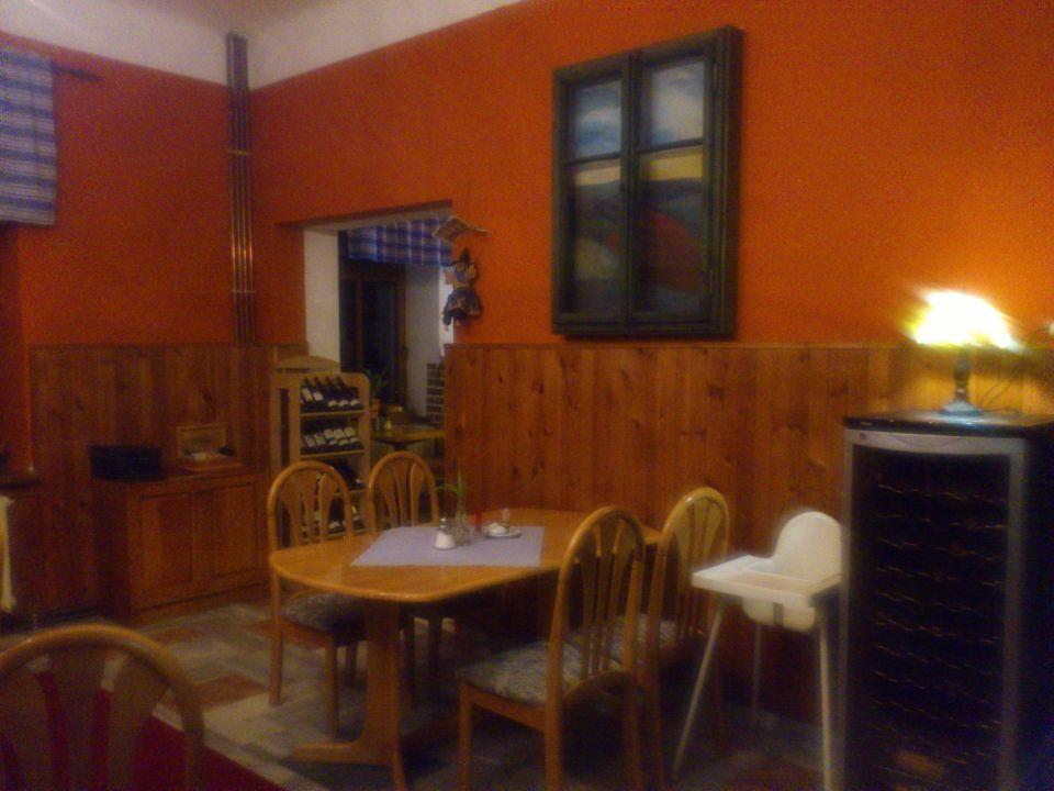 Restaurant,oder Speiseraum Hotel pod Šikmou Věží