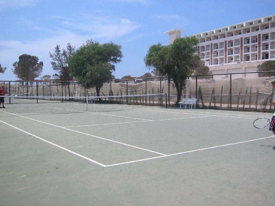 Tennisplätze Hotel Cesars Temple DeLuxe Belek