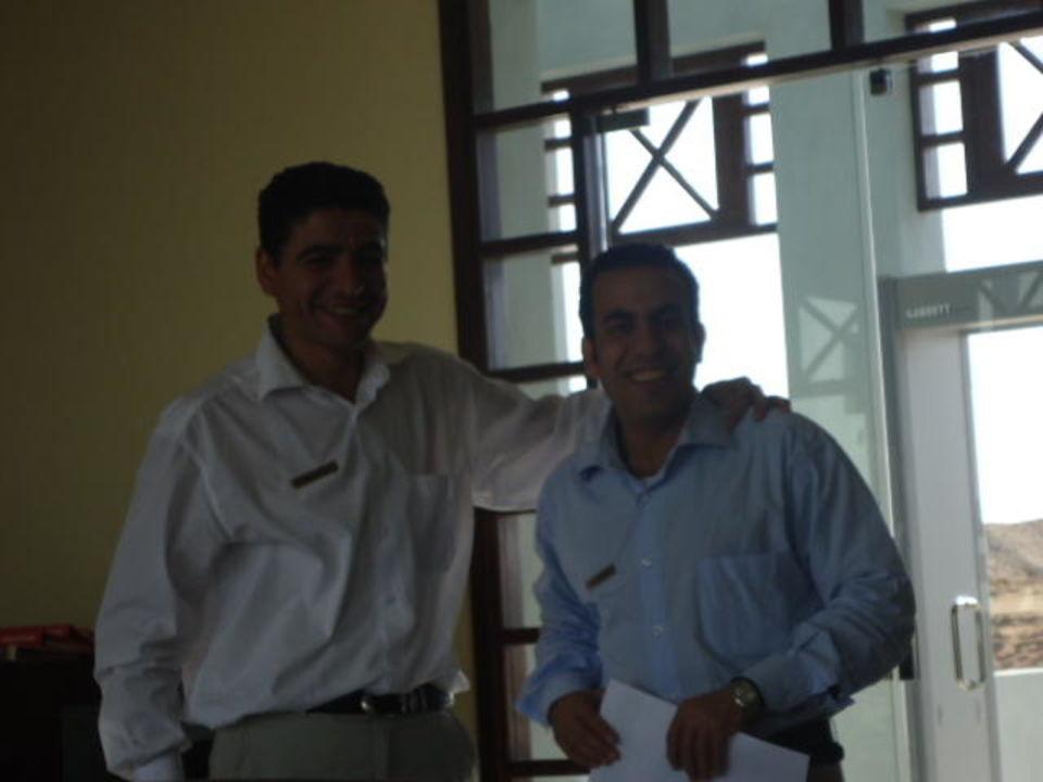 Die Zwei von der Rezeption Fanadir Hotel El Gouna
