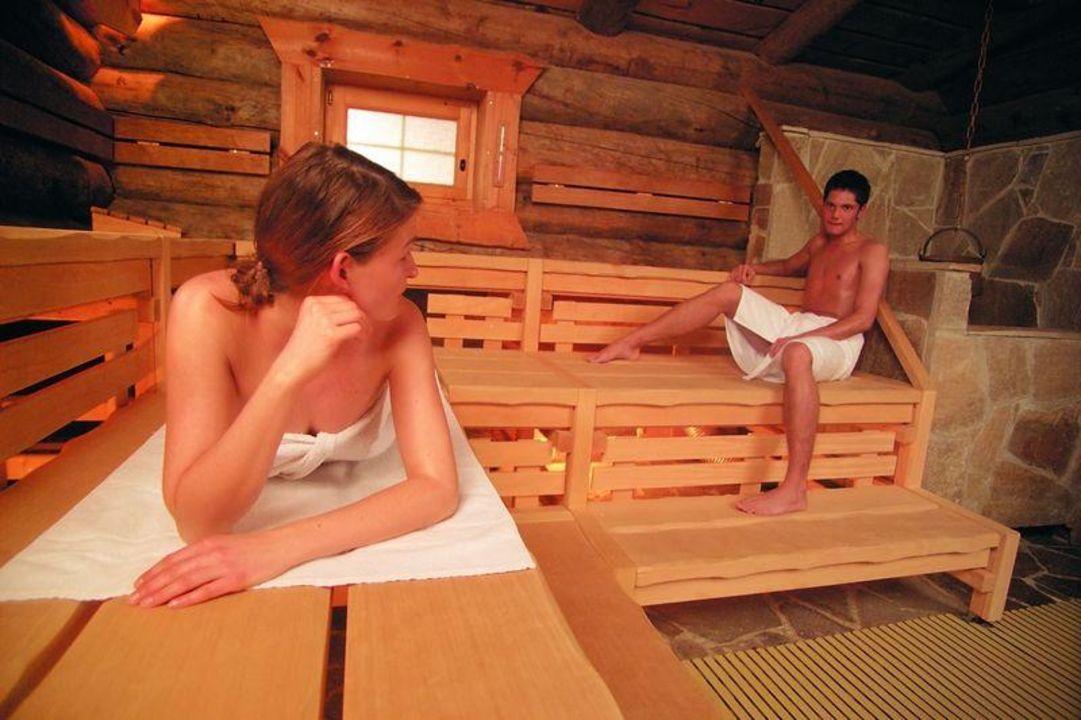 Errektion in der sauna