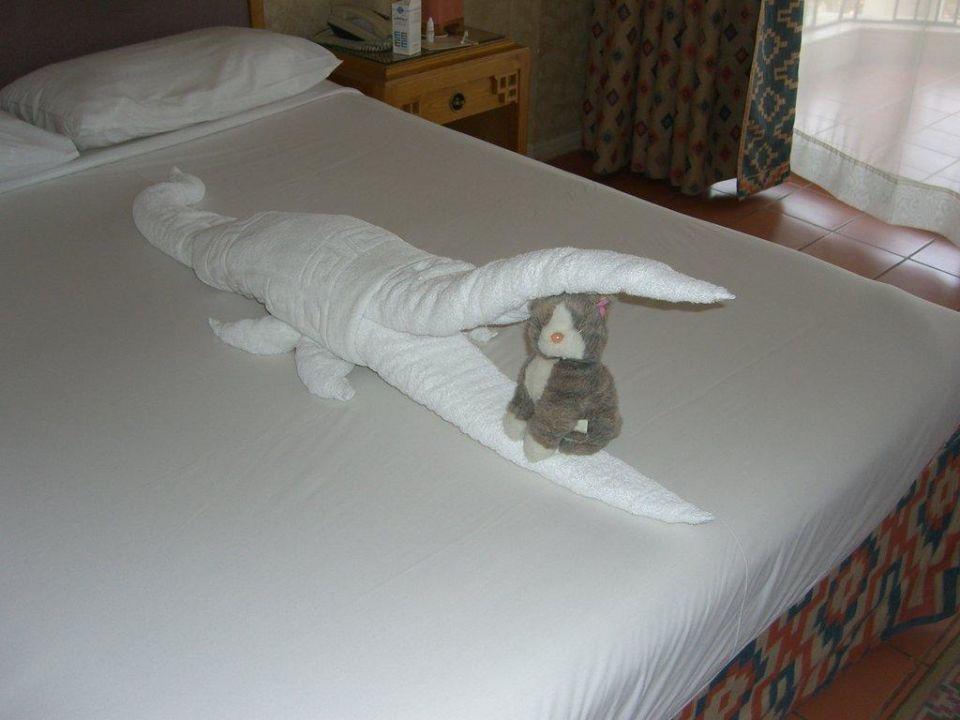 Bettdekoration SUNRISE Holidays Resort (Im Umbau / Renovierung)