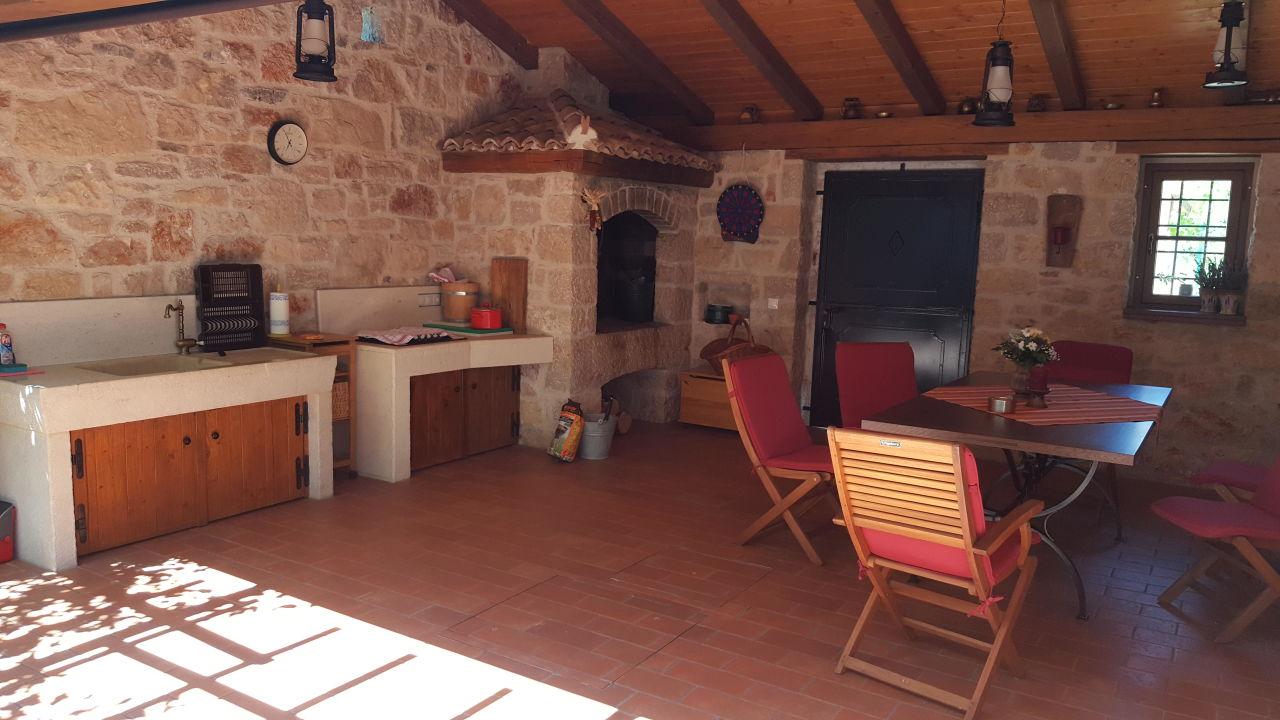 Außenküche Mit Grill : Mobile außenküche grill plancha holzbackofen
