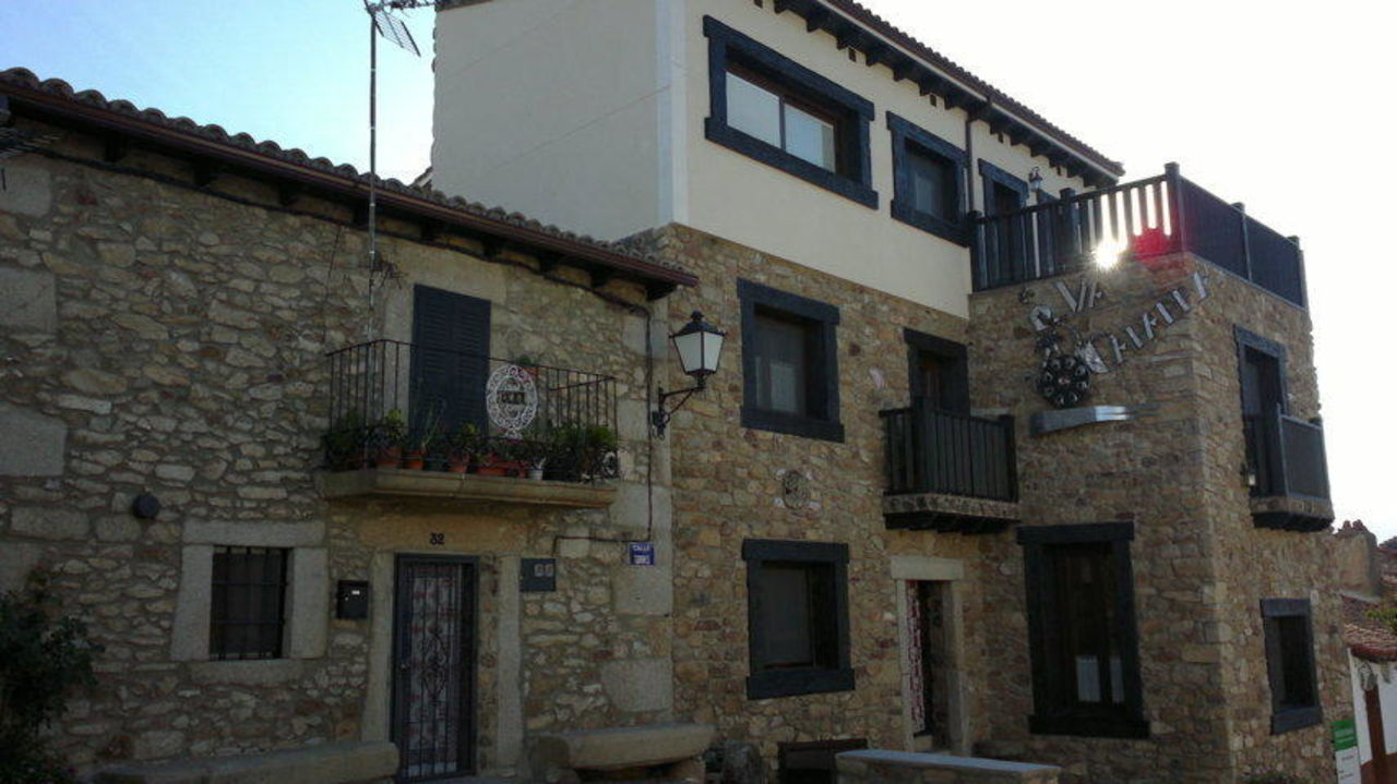 Vorderansicht Casa Rural Via Caparra