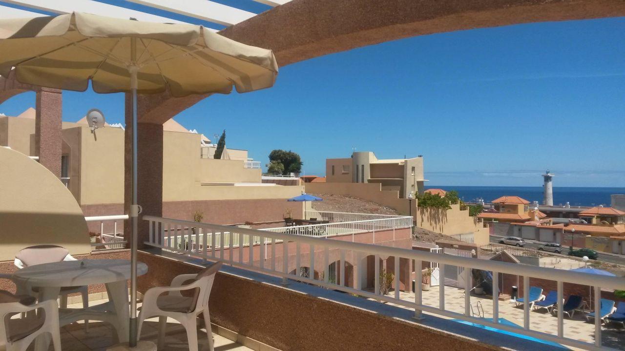 Terrasse Hotel Villa Monte Solana