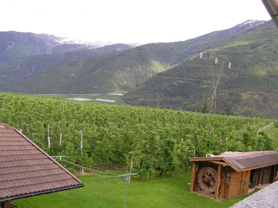 Ausblick Residence Obermühle zu Schanzen
