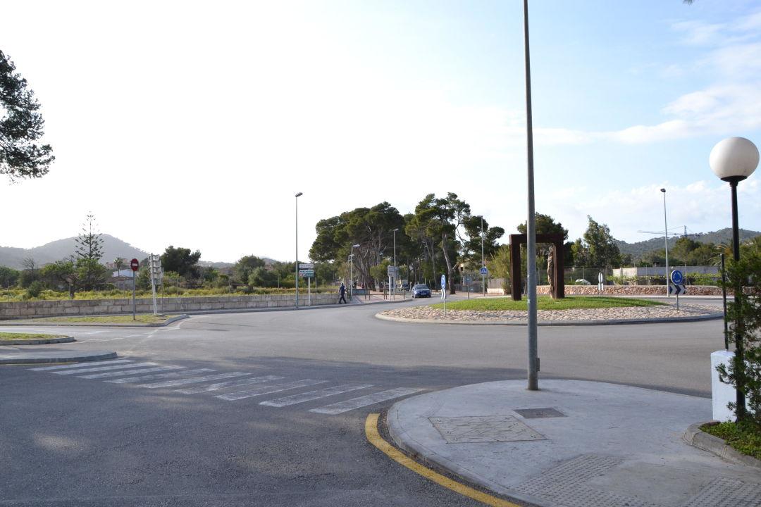Straße vom Hotel smartline Millor Sol