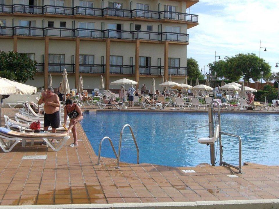 Beton & Wasserloch. Was braucht man mehr? Hotel Riu Belplaya (Vorgänger-Hotel – existiert nicht mehr)