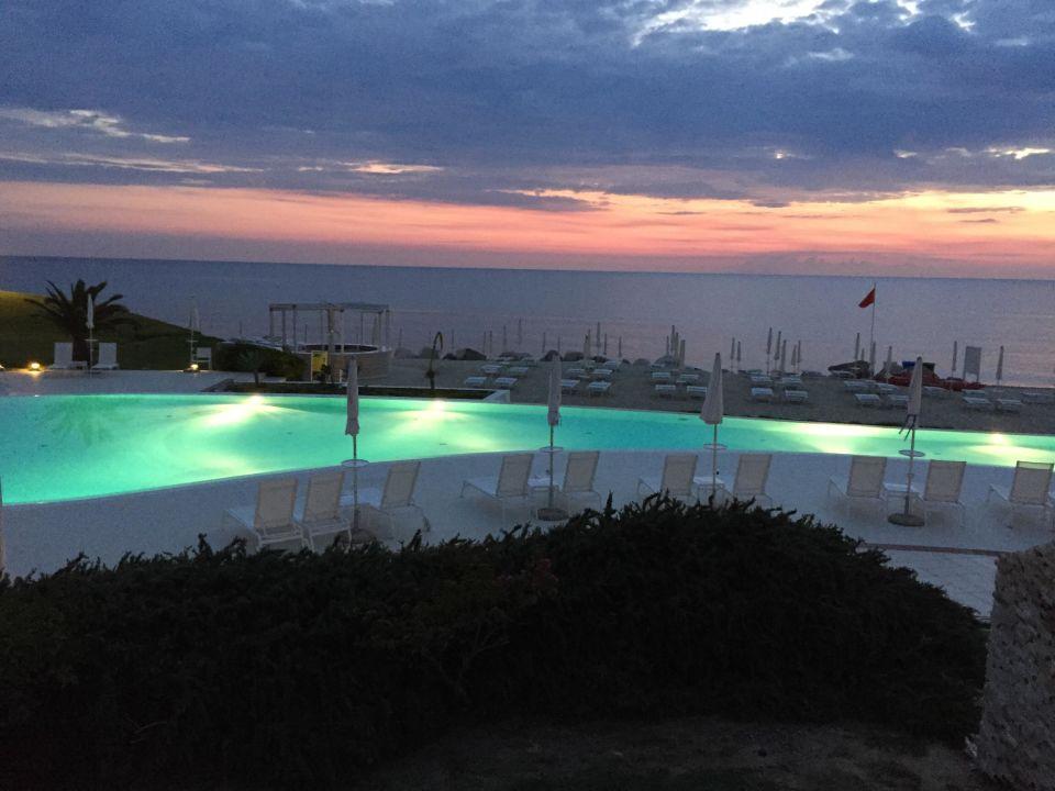 Pool Capovaticano Resort Thalasso & Spa