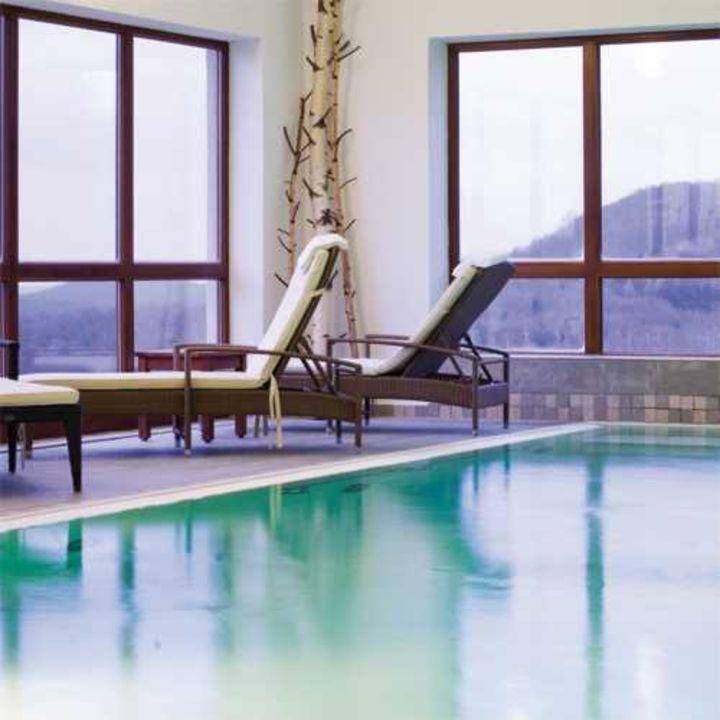 """Schwimmbad"" Berghotel Lothar Mai Haus Hofbieber"