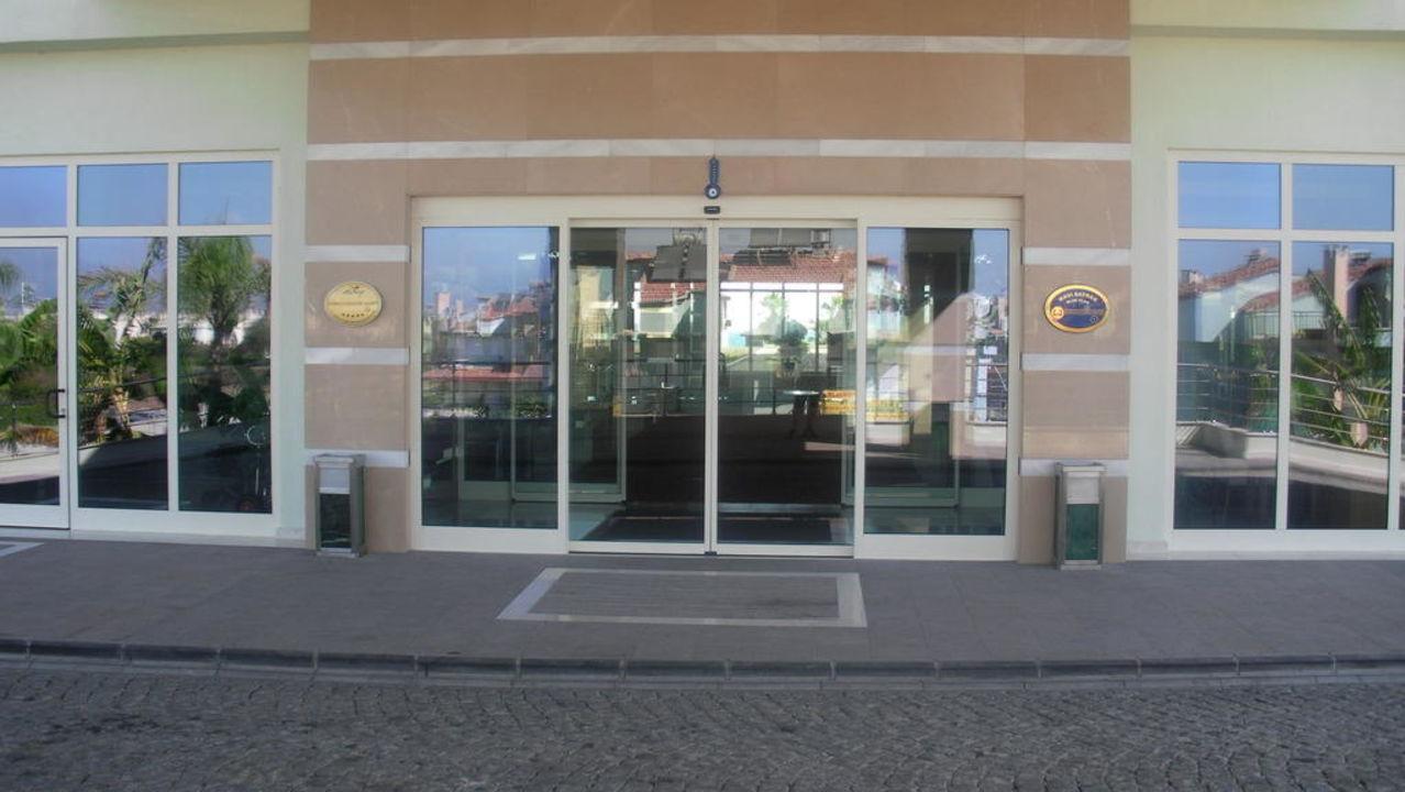 Eingang  Mholiday Hotels Belek