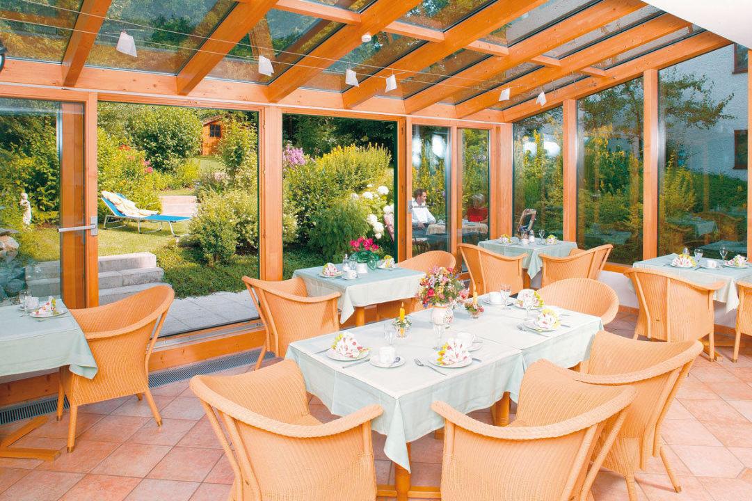 """""""Frühstücksraum Wintergarten"""" Hotel Garni Haus Christl"""