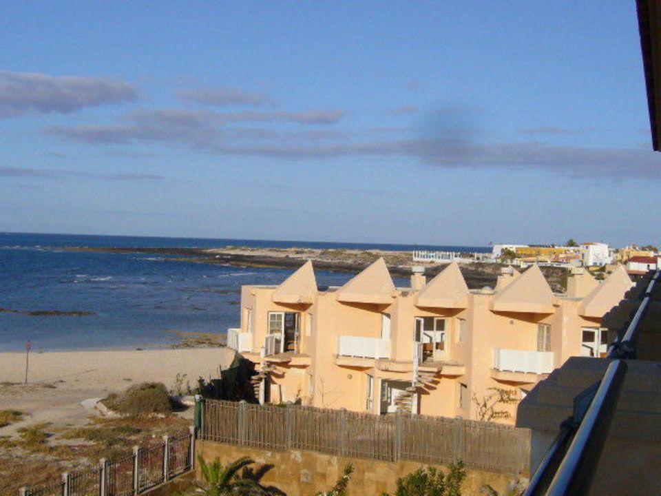 Blick A D Zimmer Auf Eine Baustelle Seitlich Gran Hotel Atlantis