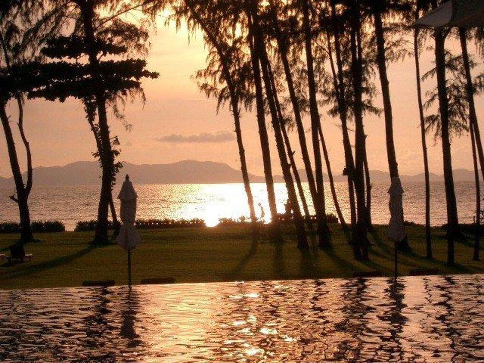 Traumhaft schön - die Dämmerung Dusit Thani Krabi Beach Resort