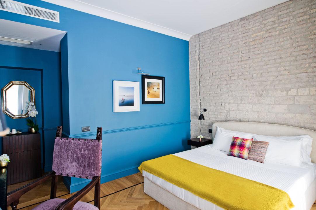 Terrace Blue Room The Fifteen Keys Hotel