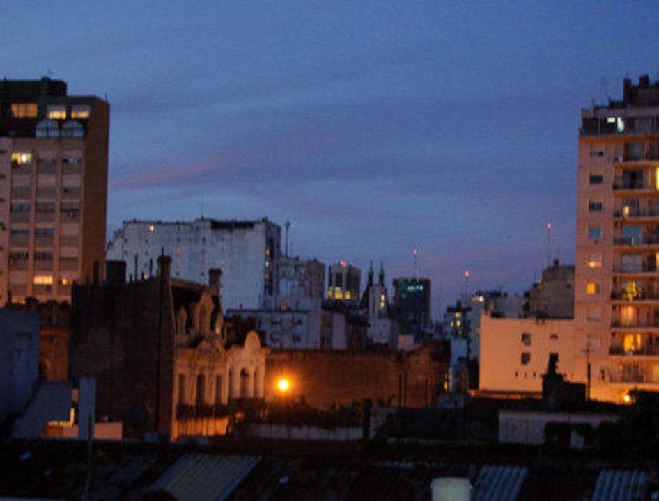Vista desde la Terraza Hotel Bolivar