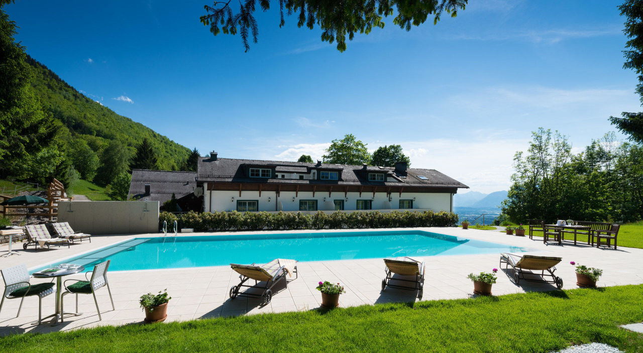 neuer pool romantik hotel die gersbergalm salzburg holidaycheck salzburger land sterreich. Black Bedroom Furniture Sets. Home Design Ideas