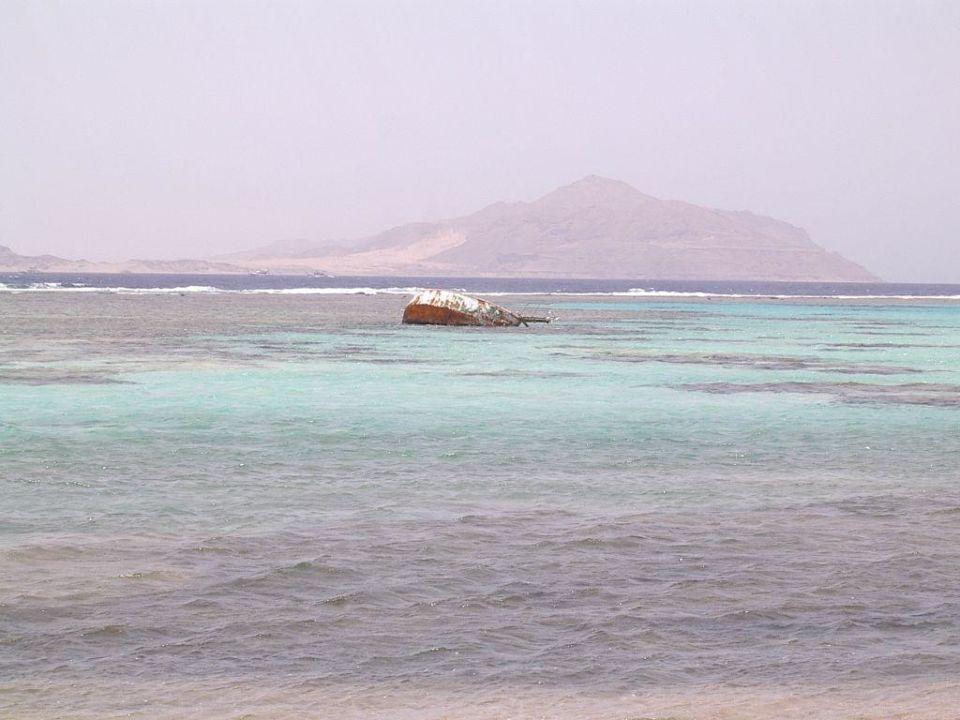 Kleines Wrack. Charmillion Sea Life Resort