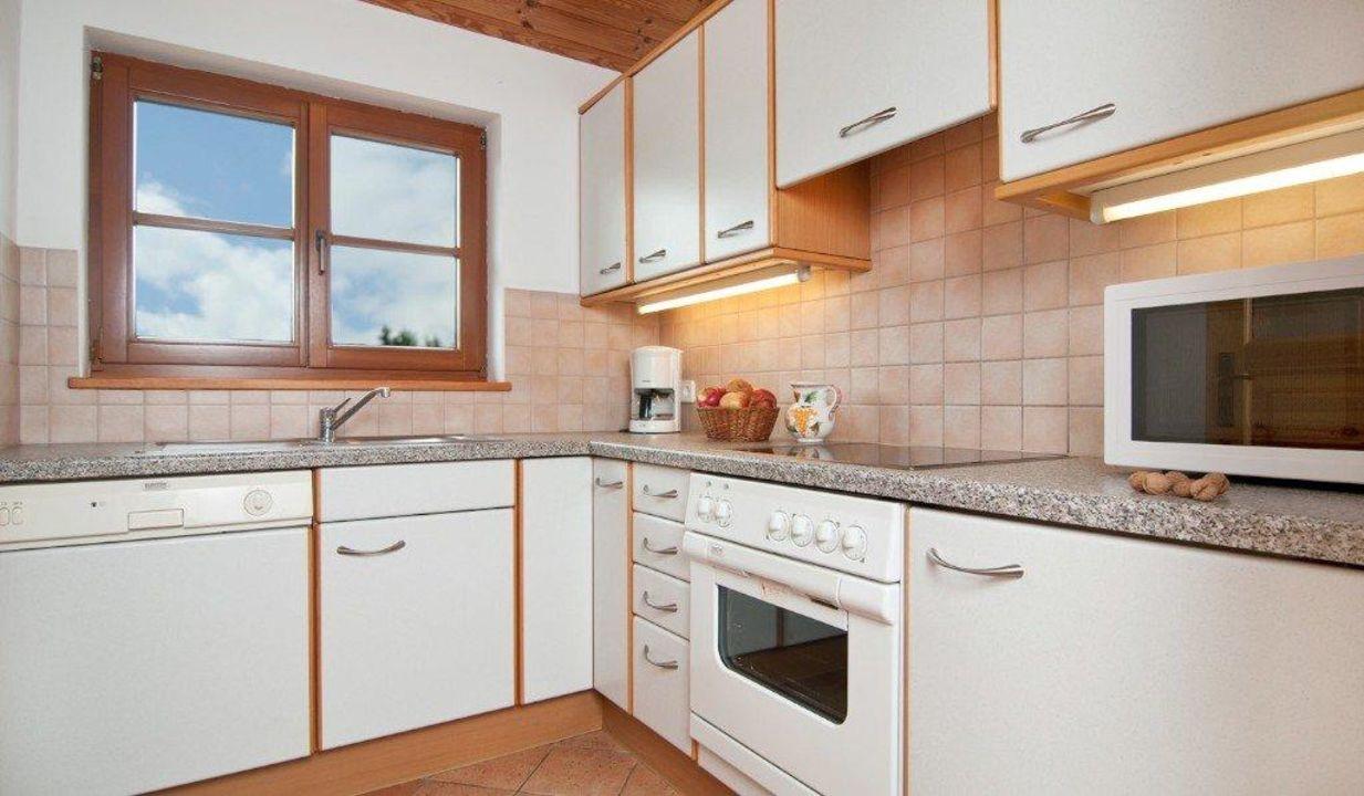 Küche in der Ferienwohnung\
