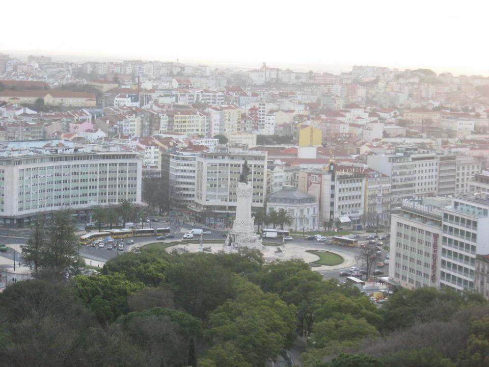 Blick über Lissabon Intercontinental Hotel Lisbon
