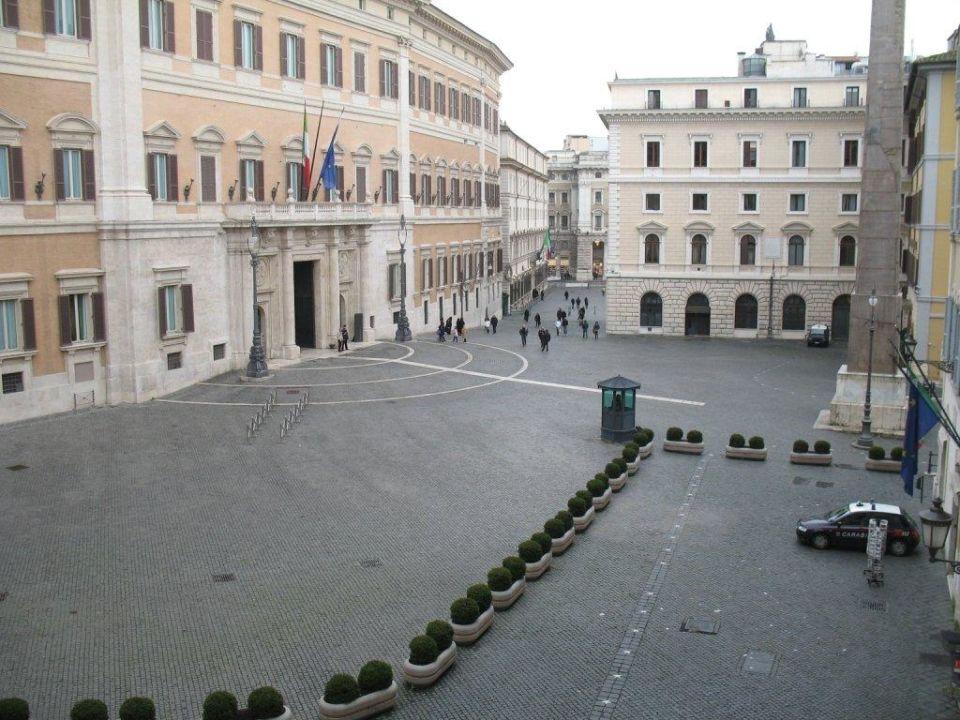 Ausblick aus dem Zimmer Hotel Nazionale