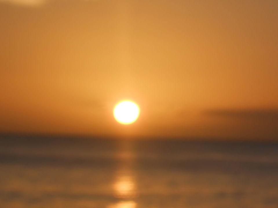Sunset on the beach Hotel The Verandah Resort