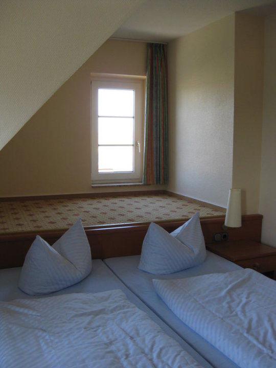 """Zimmer """"Borkum"""" Hotel Arlau - Schleuse"""