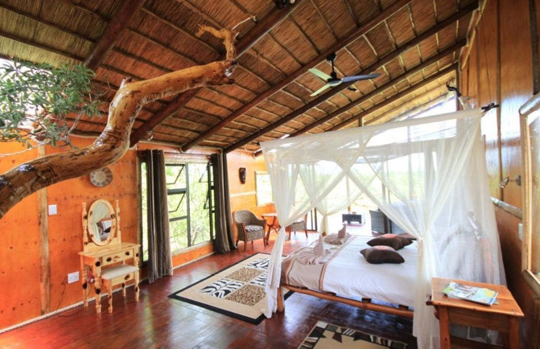 zimmer baumhaus pezulu tree house lodge thornybush holidaycheck limpopo s dafrika. Black Bedroom Furniture Sets. Home Design Ideas