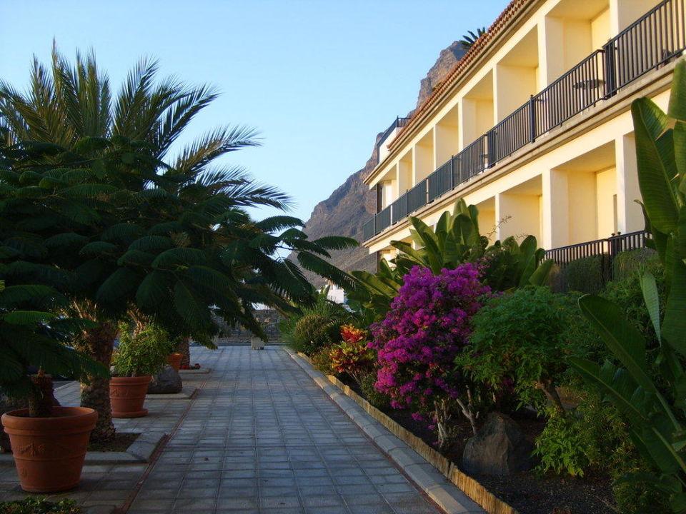 Aussenbereich Hotel Gran Rey