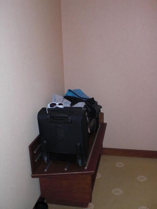 Gepäckablage Lindner Hotel Prague Castle